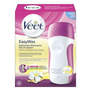 [ROSSMANN] Veet EasyWax Elektrisches Warmwachs Roll-On-System nur noch 9€ anstatt 17,45€ (Green Label + Coupon)
