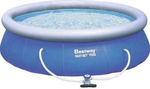 [Amazon Tagesangebot] Bestway Fast Set Pool Set mit Filterpumpe 366 x 91cm für 55,55