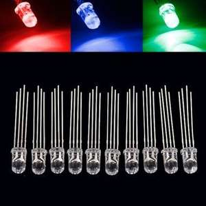 10x 5mm RGB-LED für 0,61€ (ab 10sets 0,37€ / set) @Banggood CN
