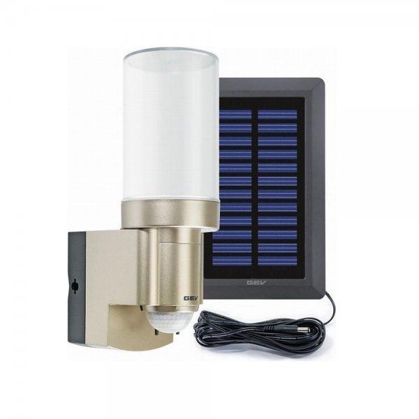 GEV LPL 14831 Solar-LED Leuchte mit Bewegungsmelder; 44,95€ + VSK 4,95€ @plus.de