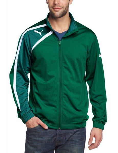 PUMA / Herren Jacke Spirit Poly Jacket / Größe S in Grün-Weiß für EUR 11,98 zzgl. Versand / @Amazon