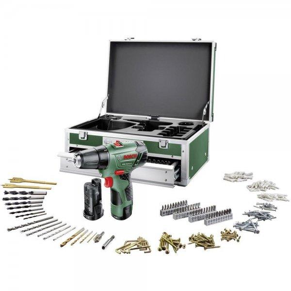 Bosch PSR 10.8 LI-2 Toolbox Akku-Bohrschrauber 10.8 V 1.5 Ah Li-Ion + 2. Akku, + Koffer, + Zubehör; 139,99€ + VSK 5,95€  @conrad.de