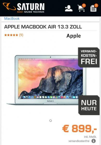 Apple Macbook Air 13 (2015) @Saturn