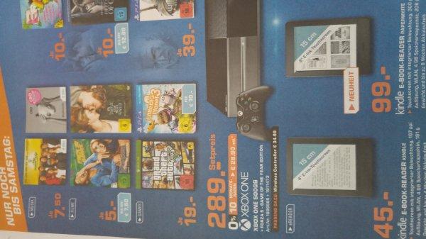 [lokal Moers]  Xbone 299€ inkl. Forza 5 / GTA V für 19€