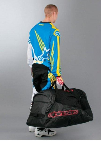 Wieder da! Alpinestars HoldAll Gear Bag Schwarz-Rot