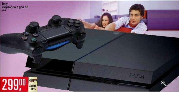 Playstation 4 - 299€ bei Marktkauf Hamburg!