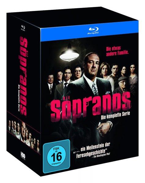 (amazon.de) Sopranos - Die komplette Serie (exklusiv bei Amazon.de) [Blu-ray] [Limited Edition] für 76,97€