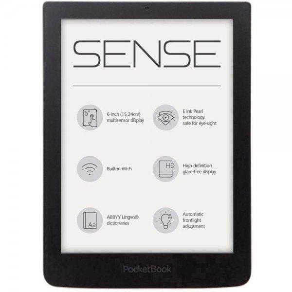 PocketBook Sense Dunkel-Grau - eBook-Reader - Conrad