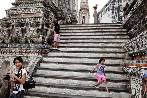 Kleine Weltreise: Flüge nach Asien (oder Afrika), weiter in die USA und zurück ab ca. 570€