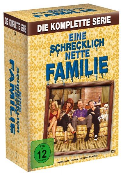 Eine schrecklich nette Familie - Die komplette Serie [33 DVDs] für 32€ @Amazon.de