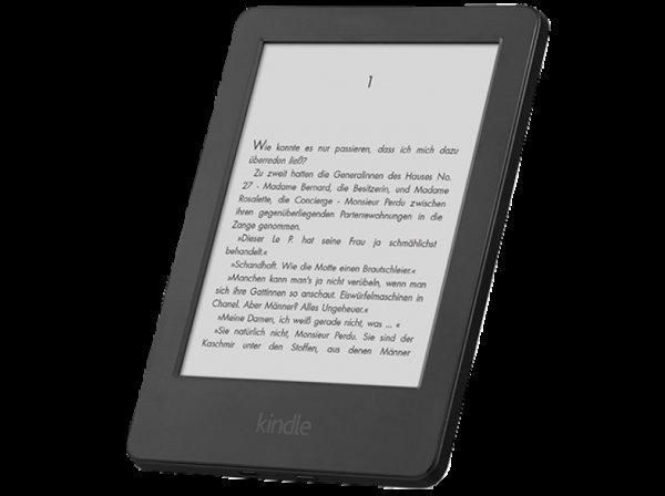 Saturn KINDLE E-Book Reader 6 Zoll WIFI 33 Prozent bzw. 20 Euro unter Idealo.