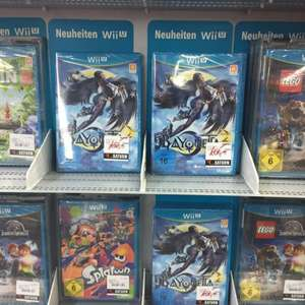 [lokal München] Bayonetta 2 WiiU für 10€