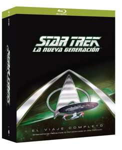 Star Trek: The Next Generation [Blu-ray] - Komplette Serie (41 Discs) Staffeln 1-7 für 94,14 € > [amazon spanien] > Bestpreis !