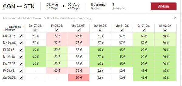 Last-Minute Reisende aufgepasst: London Hin- und Rückflug für 29 Euro im August/ September.