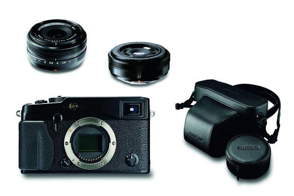 AMAZON WHD - Sehr gut - Fujifilm X-Pro1 Systemkamera (16 Megapixel, 7,6 cm (3 Zoll) LCD-Display, HDMI, USB 2.0) Kit inkl. Fujinon XF 18 mm und XF 27 mm Objektiv schwarz