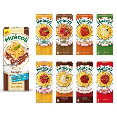 [HANAU] Kaufland: Miracoli Lasagne oder Pasta versch. Sorten für 0,65€/0,15€ (Angebot+Coupon)