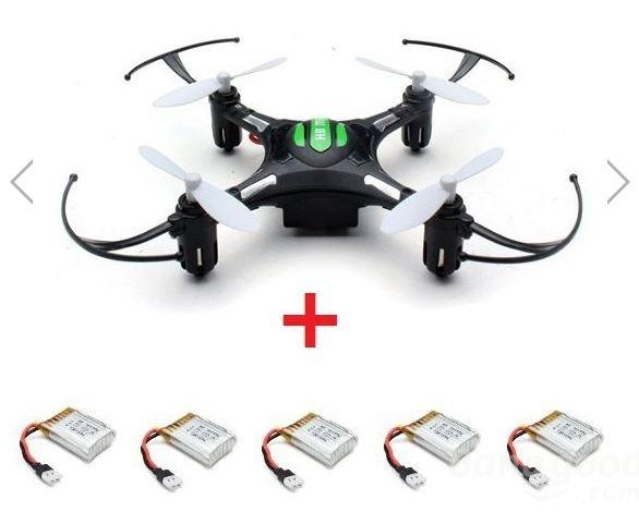 Quadcopter H8 mit 5 zusätzlichen Akkus 25% günstiger