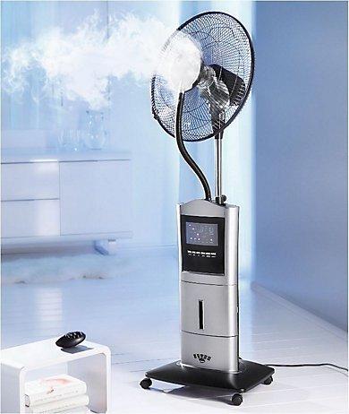 [Weltbild] Standventilator mit Sprühnebel, Ionisator & Anti-Mücken-Funktion für 80,98€ (PVG:129,00€)
