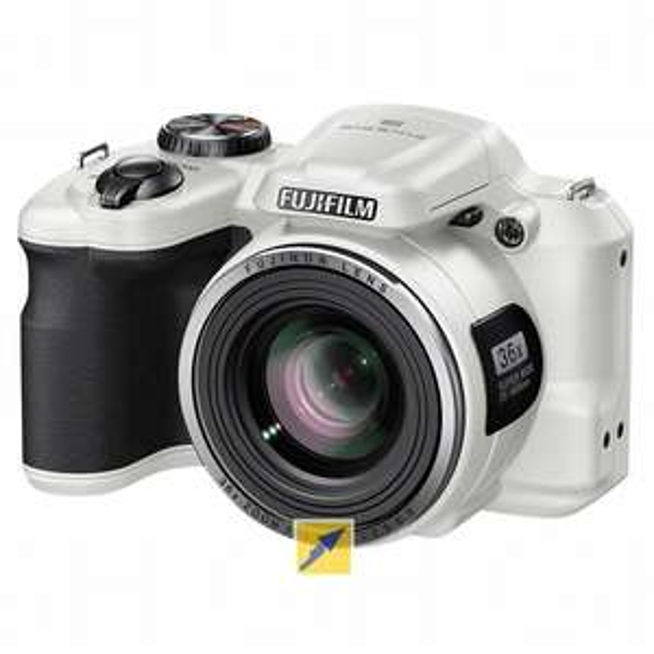 Fujifilm FinePix S8600 Super Zoom Bridge Kamera, 16 Megapixel, 36x opt. Zoom Weiß