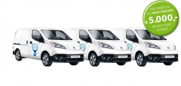 Nissan eNV200, Elektro Transporter 5000€ Ersparnis für Gewerbekunden (etvl. +1500€ weitere Ersparnis)