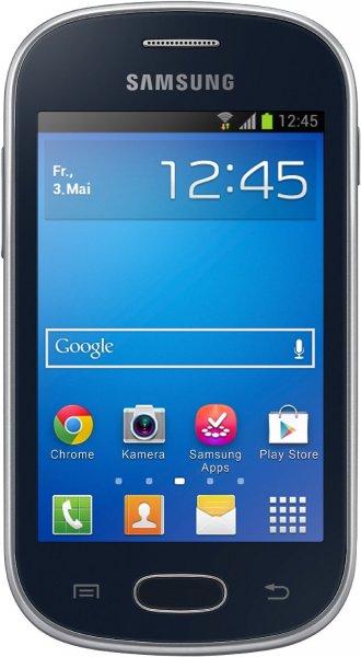 Samsung Galaxy Fame lite (3.5 Zoll) 4 GB Android™ 4.1 Schwarz (generalüberholt)@digitalo