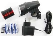 [kurbelix] LED-Akkuscheinwerfer Set Busch & Müller IXON IQ Premium fürs Fahrrad 78€