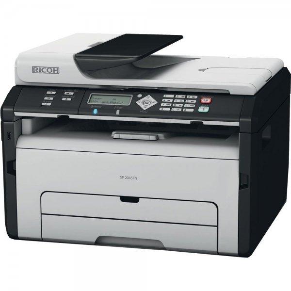 Ricoh Multifunktionsgerät SP204SFNW 4in1 Laserdrucker/ WLAN/ Wifi, 99,90 EUR @ ebay