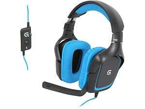 Lo­gi­tech G430 Sur­round Gaming Head­set (PC/PS4) für 45,39€ @Cyberport.de