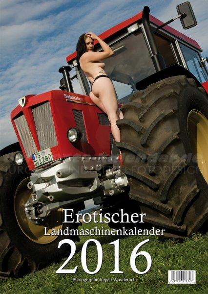 Erotischer Landmaschinenkalender 2016 für 17,90 @ Amazon