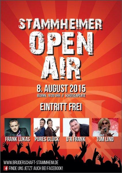Köln - Stammheim : gratis Open Air am 8.8 & 6.8.2015 Show em Veedel ( im Rahmen des Schützenfestes)