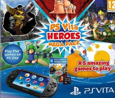 PS Vita Slim Mega Pack @amazon.de