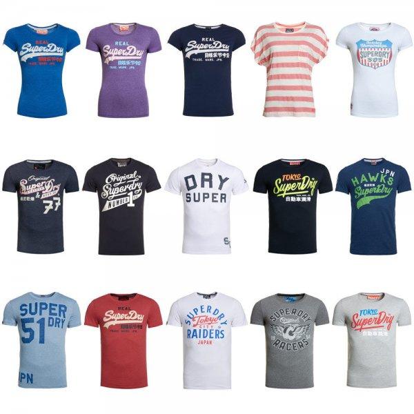 [Ebay] SuperDry Shirts für Herren und Damen (B-Ware) für 12.95€ inkl. Versand!