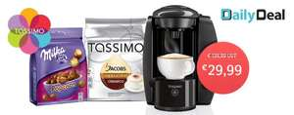 TASSIMO T4 Kapsel Kaffeemaschine für 29,99€