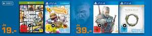 [Saturn Bundesweit] Gta 5 (XBoxOne] für 19,-€***The Witcher 3 (PS4] ab 34,-€+++The Elder Scrolls Online: Tamriel Unlimited (PS4 / XBoxOne) ab 34,-€