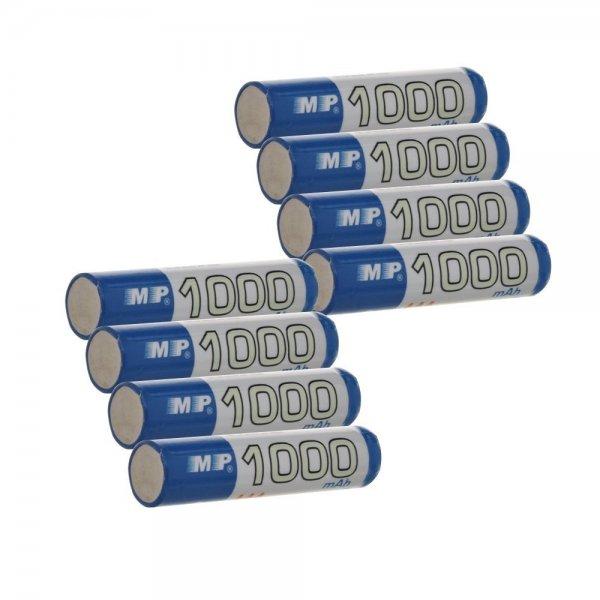 ATC 8x / 16 x 1000mah / 2600mah Batterie AA / AAA Akkus NI-MH wiederaufladbar ab 8,99€