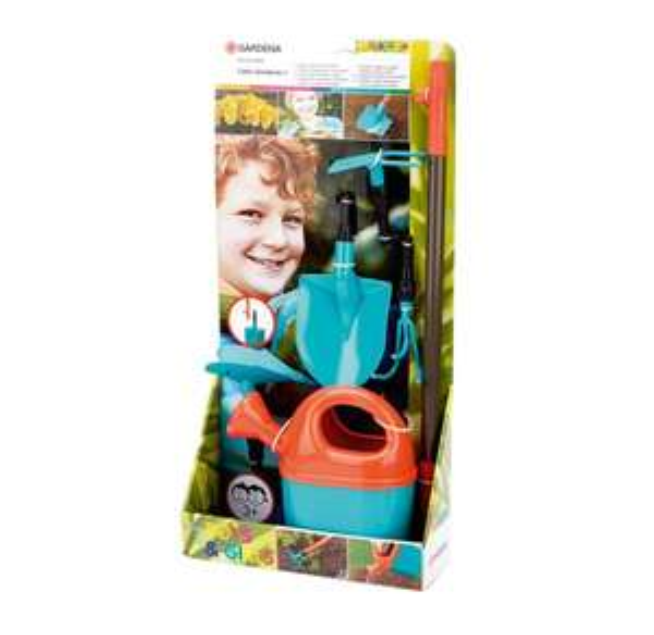 2 für 1 / Gardena Kinder-Gartenset Green Garden I, 6-teilig @ NKD Online (Edit: 3 für 1 für 12,97 €)
