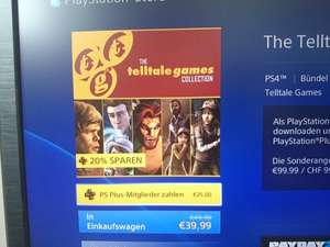 The Telltale Games Collection - PS4 (ps plus) 25€