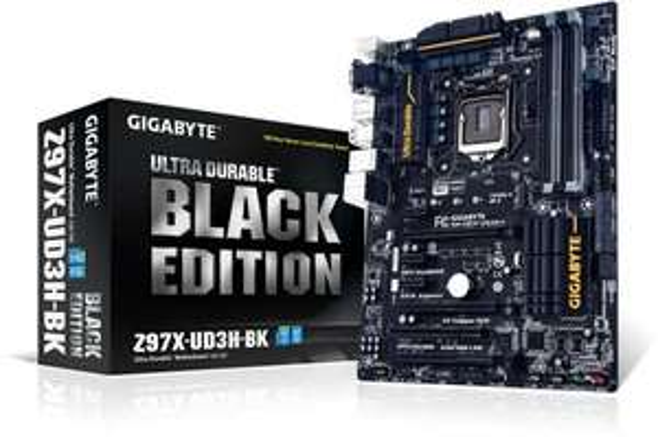 Gigabyte GA-Z97X-UD3H-BK Black Edition - 5 Jahre Garantie, Upgrade-Option (nächste Generation im Tausch kostenlos) - 111,89€ @ hoh.de