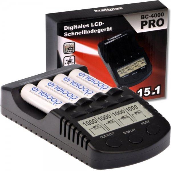 BC-4000 Pro Akku Ladegerät - besser als BC-700 für 29,70€ @Amazon