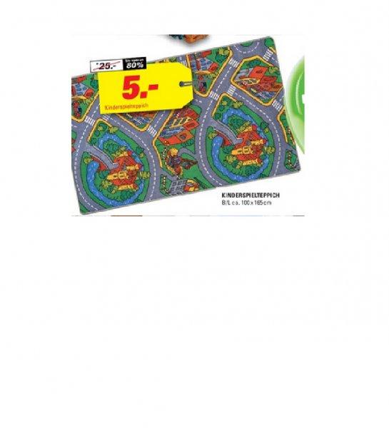 (Lokal?) Höffner Gründau Lieblos, evtl. auch andere Filialen… Kinder Straßen-Spielteppich 100x165cm für 5€