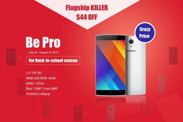 [pandawill] Ulefone Be Pro (5,5'', MT6732, 2 GB RAM, LTE, Dual-SIM, 16GB) für 123,42 €
