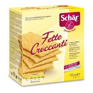 [DM] Schär Fette Croccanti 150g glutenfreies + laktosefreies Knäckebrot für 0,75€/0,60€ (Angebot+Coupies+Payback) [LIMITIERT:5 Packungen/Account]