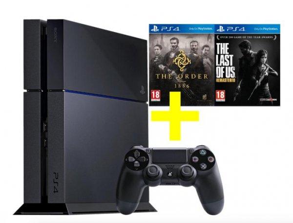 PS4 + The Last of Us + The Order für 299€ Mediamarkt.at + Versand D-A