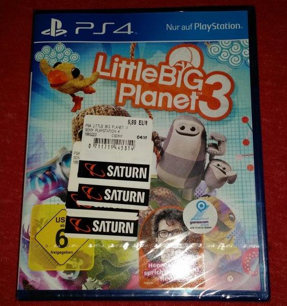 [Saturn Chemnitz Center] Little Big Planet 3 PS4