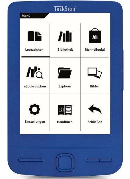 "[Ebay.de] TrekStor eBook Reader Pyrus Mini Blau Display-Größe 10.9 cm (4.3"") 2GB Speicher ab 24,90€"
