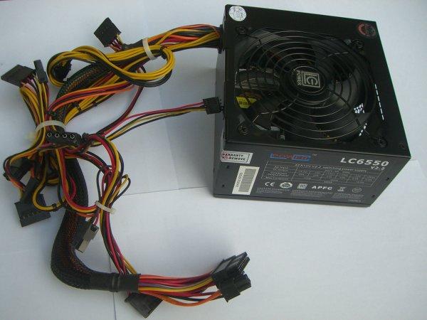 Netzteil ATX LC6550 Gold Zertifiziert 550W V1.3 gebraucht vom Händler für 22,90 @ ebay