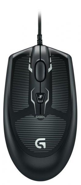 Logitech G100s für 9,50 (optische Gaming Maus 2500dpi, USB schwarz Links- und Rechtshändermaus) @ Amazon Prime WHD