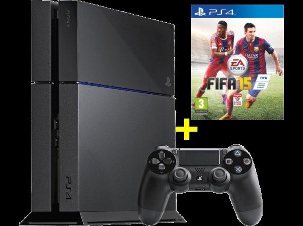 (MediaMarkt.at) PS4 1TB Edition inkl. FIFA 15 für 313 inkl. Versand nach Deutschland