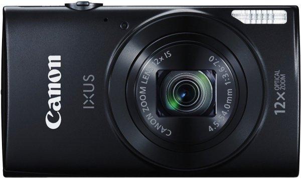 CANON Ixus 170 Kompaktkamera (20 Megapixel, 12x optischer Zoom, 6.8 cm / 2.7 Zoll) in weiß/schwarz/blau @Media Markt