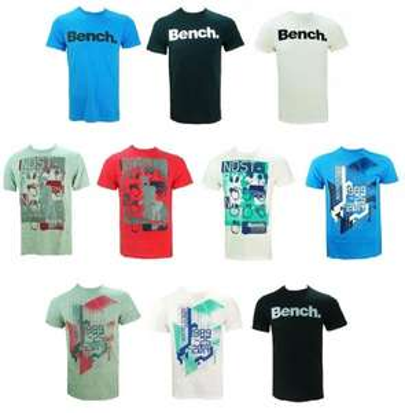 [ebay WOW] Bench. Herren T-Shirt Kurzarm verschiedene Modelle